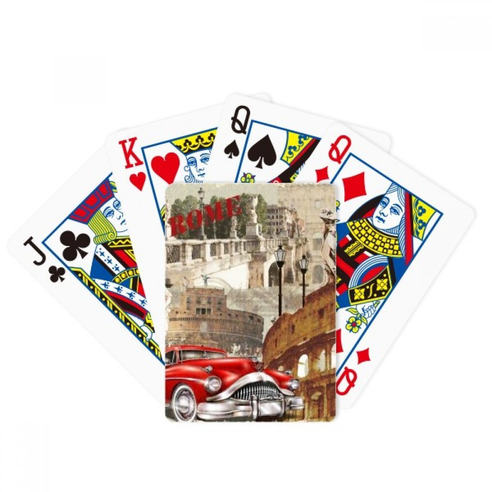 Italy Rome Landscape National Pattern Poker Playing Cards Tabletop Game Gift