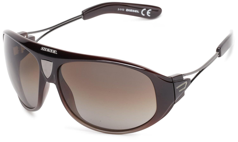 Diesel Unisex Sonnenbrille SUNGLASSES DL0052 01A , Farbe: Braun