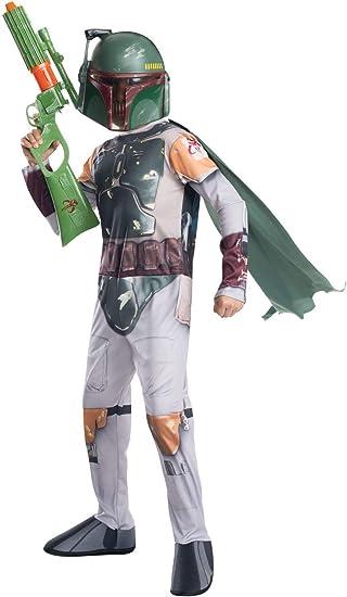 Disfraz de oficial de Disney Star Wars Boba Fett de Rubies, para ...