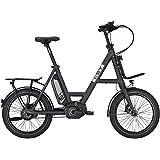 isy e bike faltrad 20 zoll drive s8 bosch active line. Black Bedroom Furniture Sets. Home Design Ideas