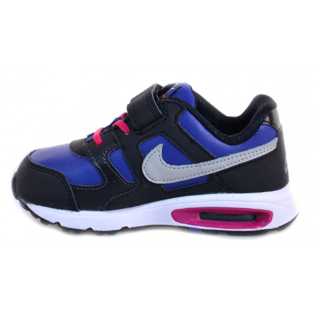 Nike Nike Air Max Chase Leather (TDV) Kinderschuhe Schwarz