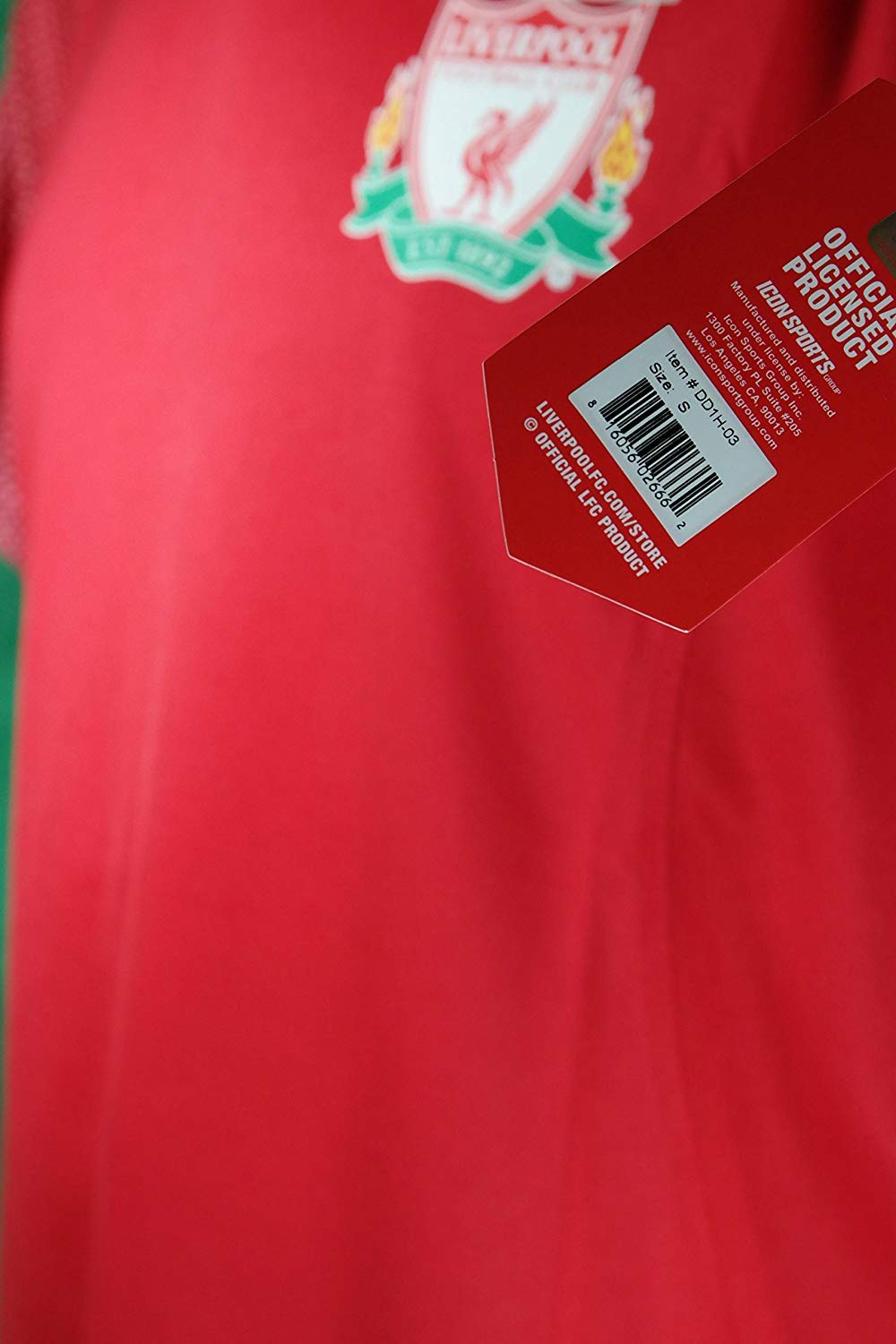 Icon Sport Group Liverpool F.C Official Adult Soccer Poly Jersey P007