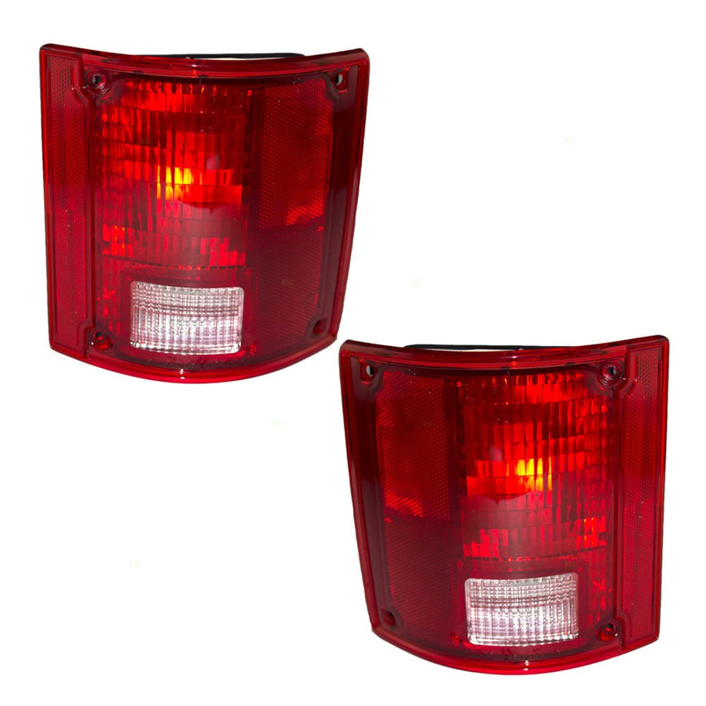 BuyRVlights Monaco Cayman 2002-2005 RV Motorhome Pair Replacement Rear Tail Light Lamps Left /& Right