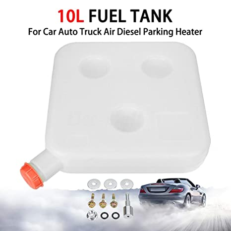 Fuel Oil Gasoline Tank 10L Air Diesel Parking Heater For Car Truck Plastic
