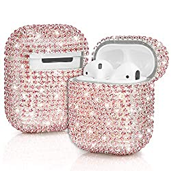 Pink Diamonds Airpod Case Cover Handmade