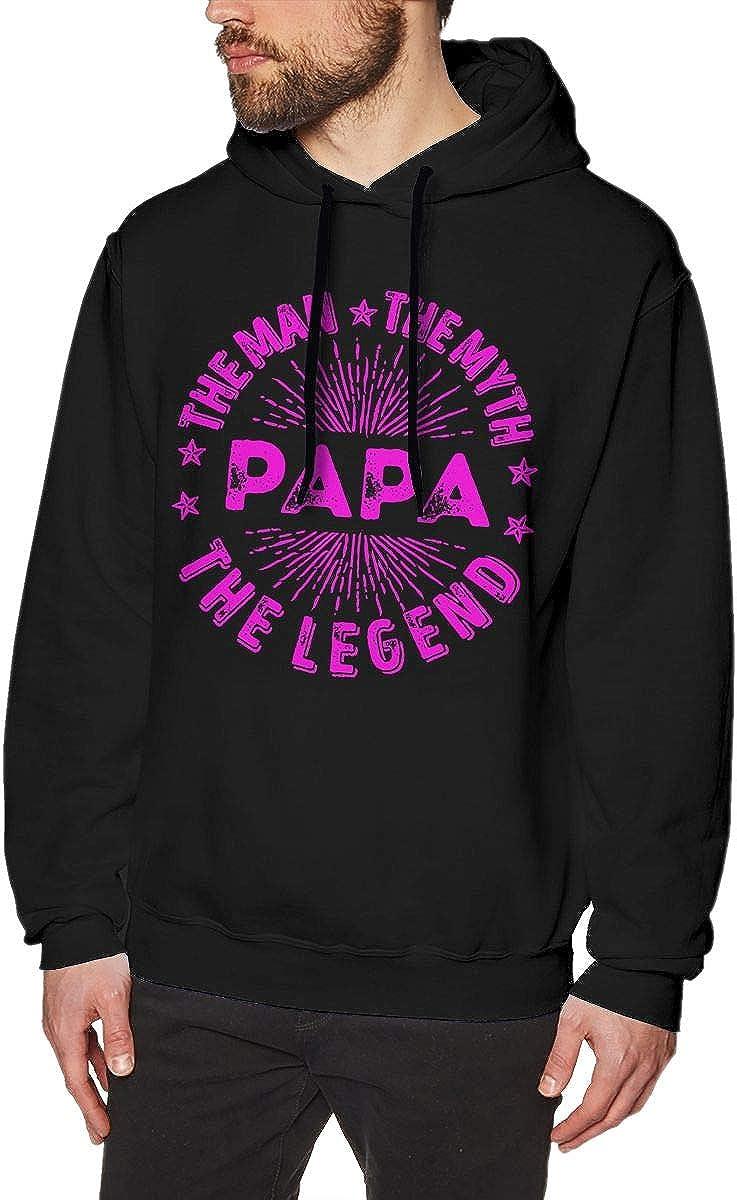 The Man The Myth The Legend PAPA Mens Hoodie Sweatshirt