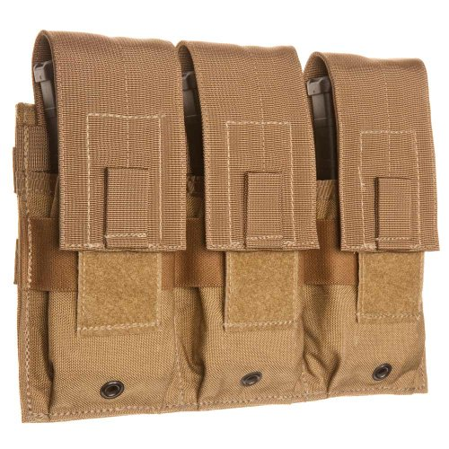 Tac Shield Triple Universal Rifle Molle Pouch, Coyote ()
