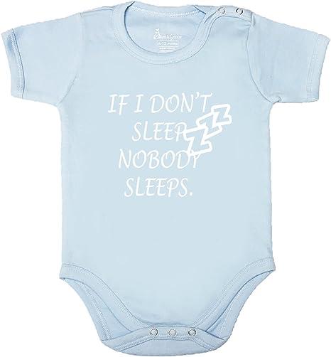 Kinacle If I Dont Sleep Nobody Sleeps Baby//Toddler T-Shirt