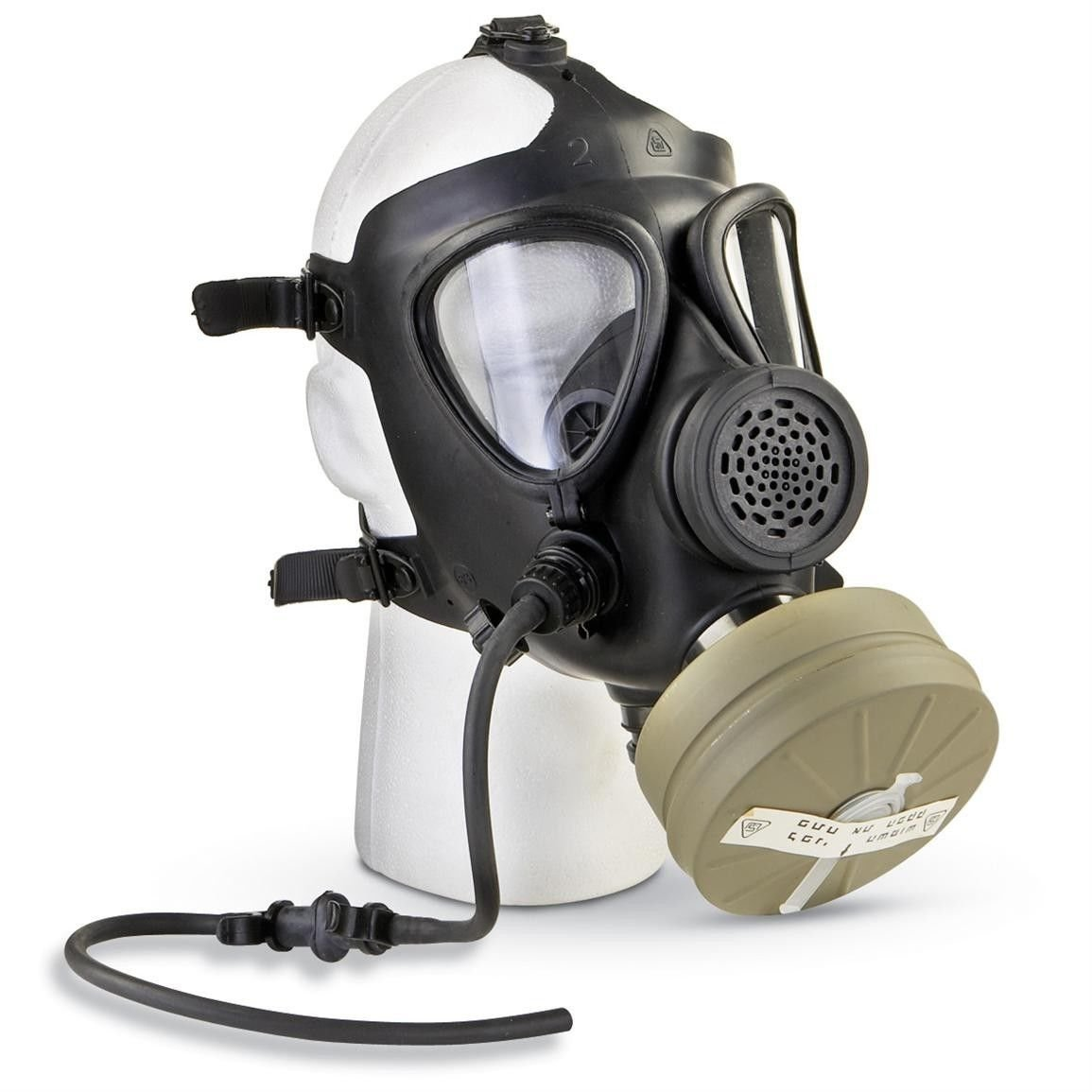 M15 Rubber Respirator Mask NBC Protection For Industrial Use, Chemical Handling, Painting, Welding, Prepping