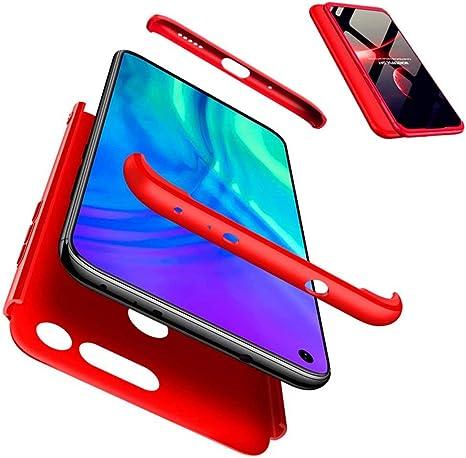 JJWYD Funda para Huawei Honor View 20/V20 + Gratis Cristal Templado, para Huawei Honor View 20/V20 Funda 3 in 1 Hard Caja Caso PC Protective Ultra Delgado Anti-rasguños Case Caso: Amazon.es: Electrónica