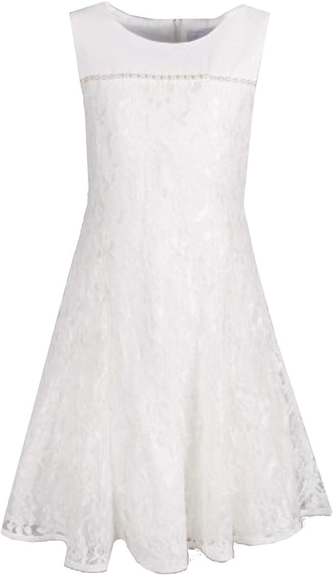Eisend Eisend - Festliches Kleid Mädchen Taufkleid, weiß - 17