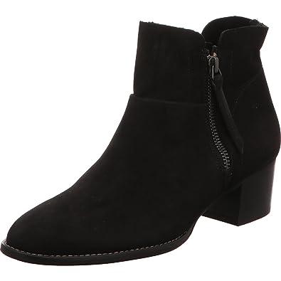 Paul Green Damen Stiefeletten/ Boots Größe 36 Schwarz (Schwarz)