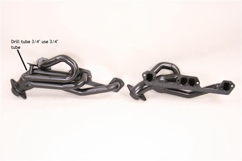 Pace Setter 70-1181 Black Exhaust Header