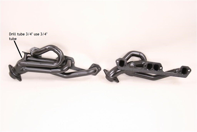 Pace Setter 70-1312 Black Shorty Exhaust Header