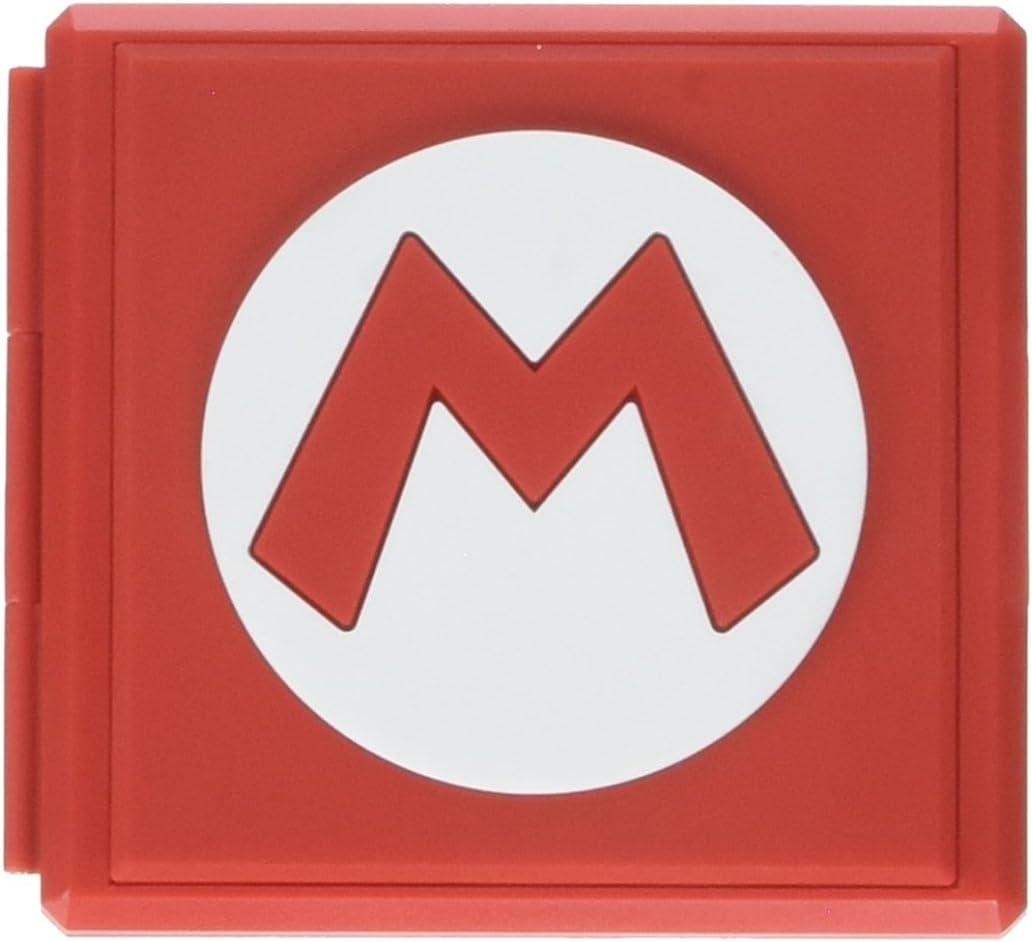 Estuche Premium Para 12 Juegos Nintendo Switch Mario (xmp)