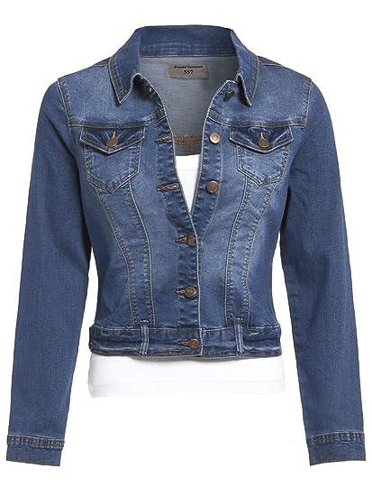 SS7 Nouvelles Femmes Extensible Veste en Jeans, Tailles 8 pour 16