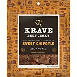 KRAVE Beef Jerky, Sweet Chipotle, 2.7 Ounce (Pack of 8)