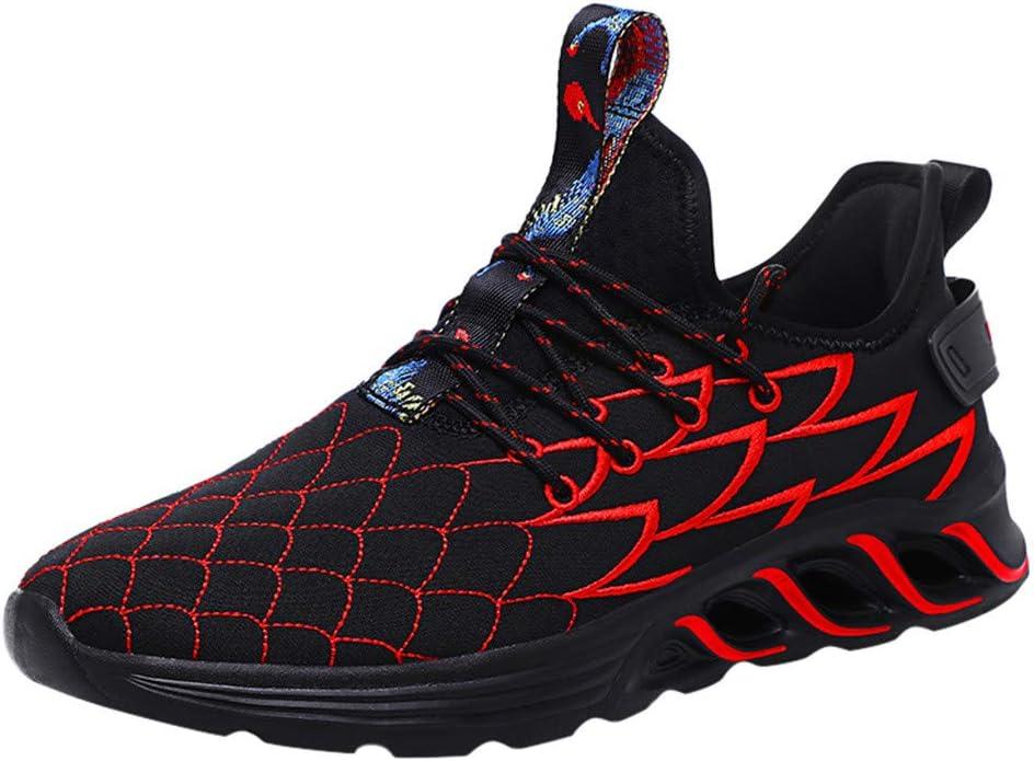 Yesmile - Zapatillas de Deporte para Hombre, para Correr, Correr, Fitness, Exteriores, Modernas, para Caminar por la Calle: Amazon.es: Jardín