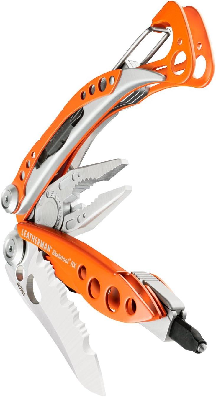Naranja Unisex 10 CM LEATHERMAN Skeletool RX