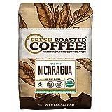 Nicaragua El Porvenir Organic Direct Trade, Whole Bean, Fresh Roasted Coffee LLC. (5 lb.)