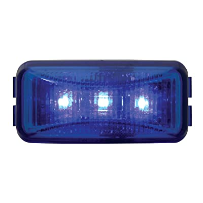 GG Grand General 87646 Small Rect. Blue/Blue 3-LED Interior Use Sealed Light: Automotive