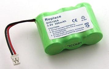 Batería compatible con Siemens Gigaset 100, 200, A1, A100: Amazon.es: Electrónica