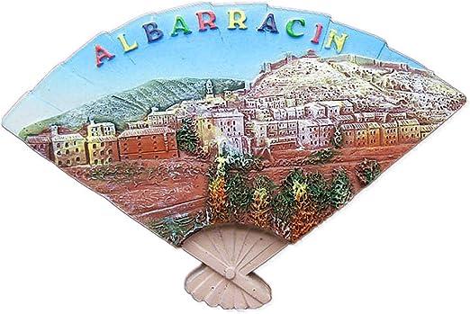 3D Albarracin España imán de nevera de viaje recuerdo regalo hogar y cocina decoración etiqueta engomada magnética, imán de refrigerador de Albarracin España: Amazon.es: Hogar