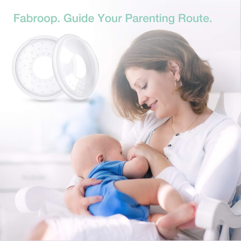 Milk Saver for Breastfeeding Soft Nipple Shells No Leak Breast Shells 2 Pack