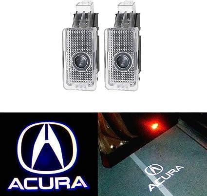 MIVISO Luci del proiettore logo a 2 pezzi per portiere auto Luci dellilluminazione automatica dellemblema