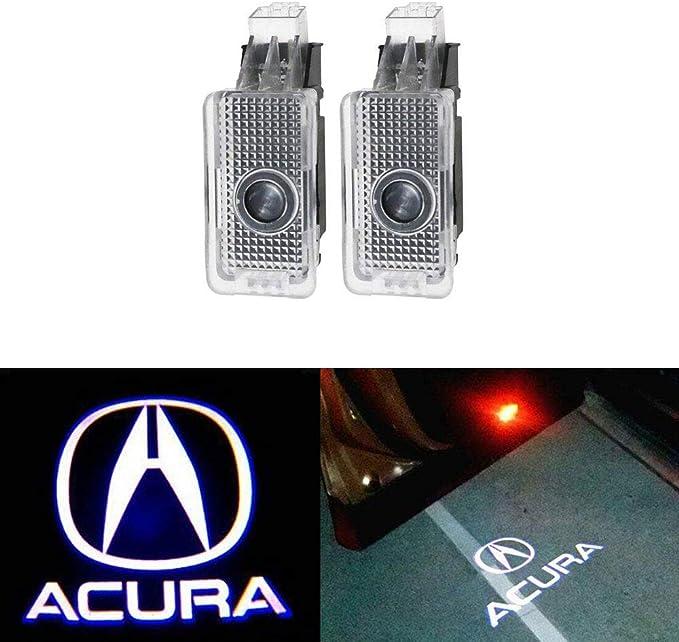 MIVISO Logotipo de la puerta del coche de 2 piezas Proyector de ...
