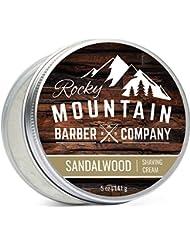 Shaving Cream for Men – With Natural Sandalwood Essential...