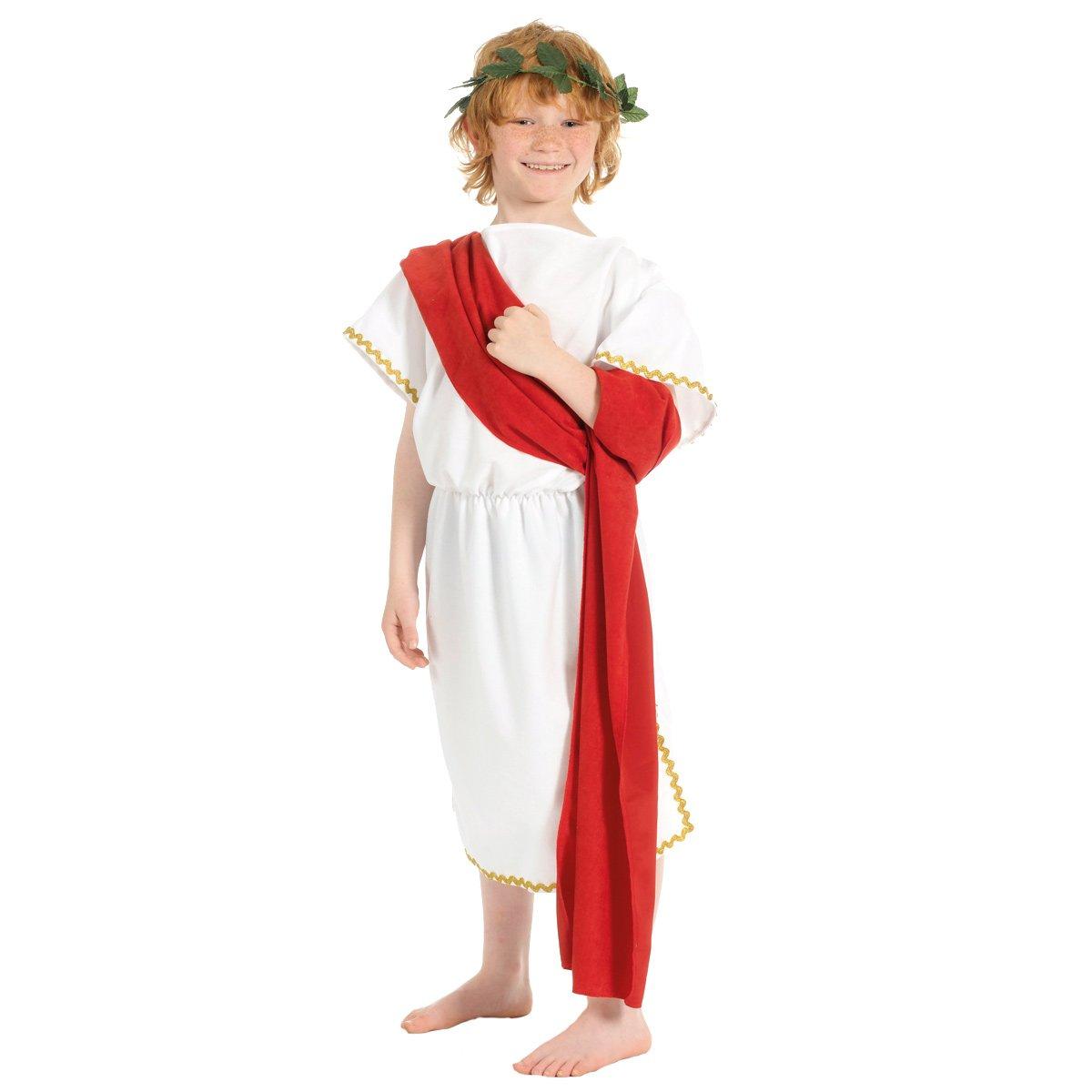 Greek - Disfraz de romano para niño, talla 128 cm (273187 ...