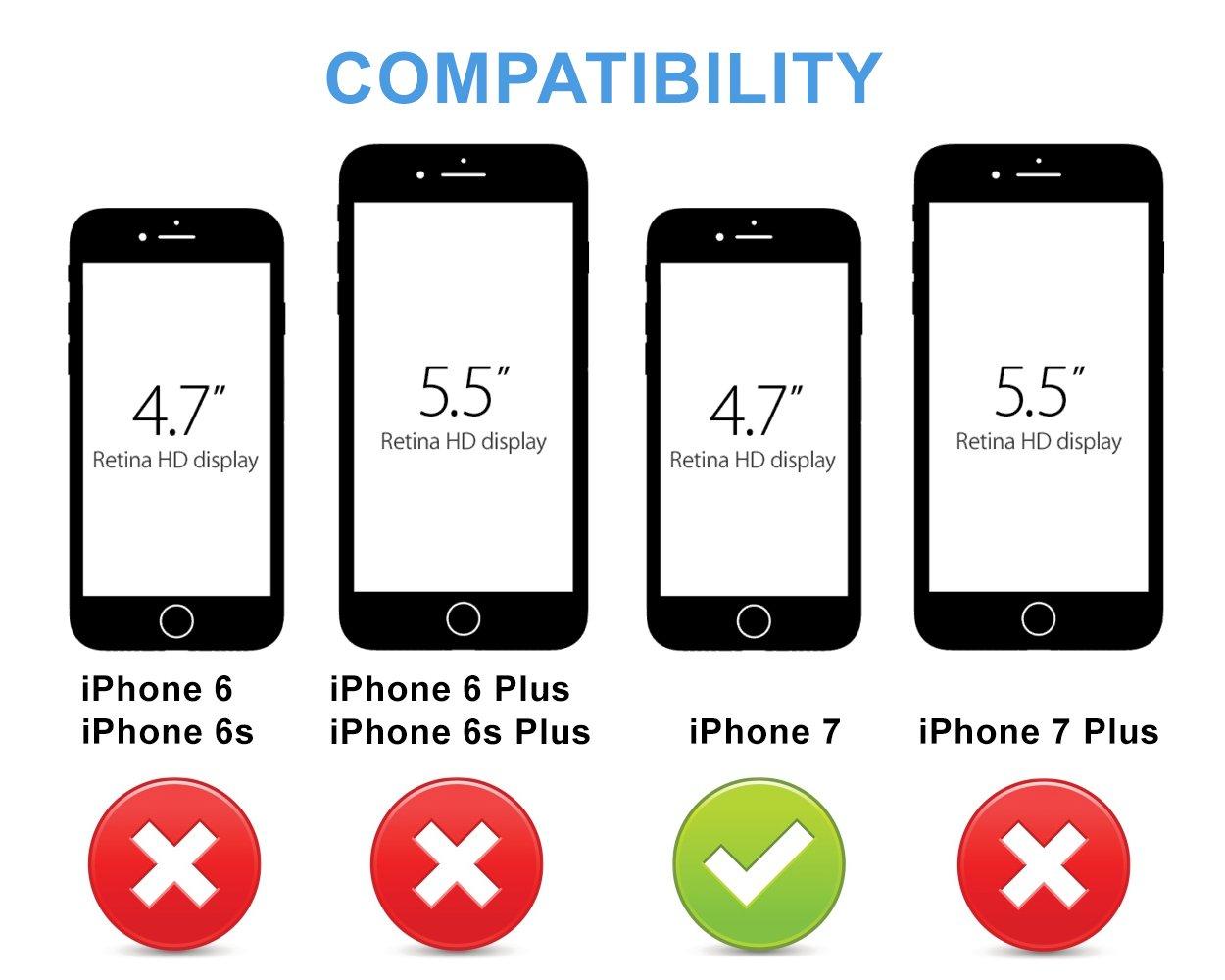 check out ebd45 92978 Amazon.com: BEZALEL 2017 Latitude iPhone 7 Universal Qi Wireless ...