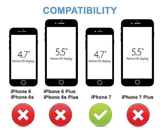 check out fe8b1 be0a1 Amazon.com: BEZALEL 2017 Latitude iPhone 7 Universal Qi Wireless ...