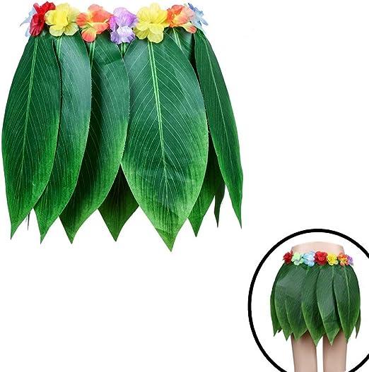 Chytaii Falda de Hierba Hawaiana Accesorios para Festivales de ...