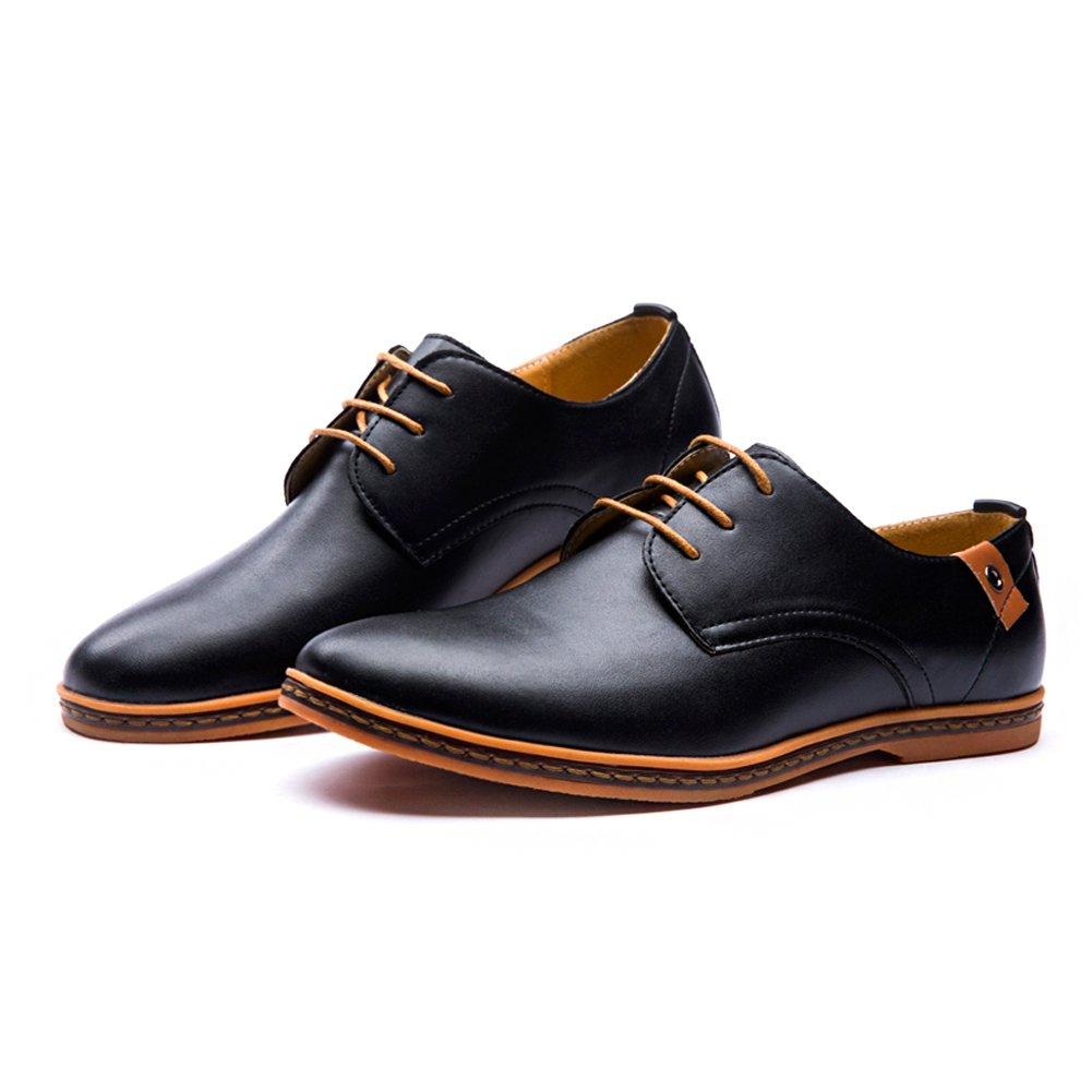 Hommes Chaussures En Cuir - Chaussures Lacets Homme Noir Une Autre Peau Noire, Couleur Noire, Taille 39,5 Eu