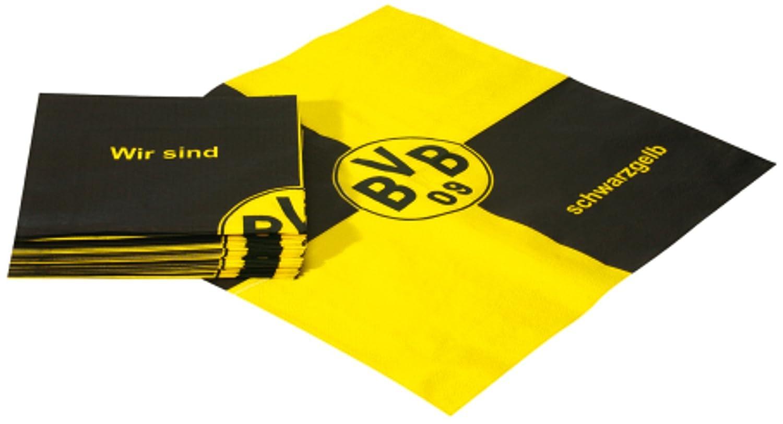 Borussia Dortmund Servietten Misc.