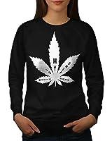Music 420 Weed Leaf Rasta Women S-2XL Sweatshirt | Wellcoda