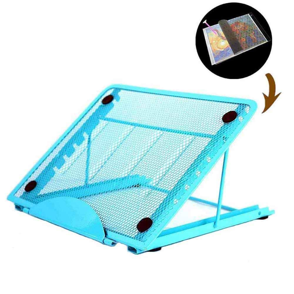 Stand for Diamond Painting Light Box, A4 LED Light Pad Board Holder of 5D Diamond Painting Kits Tool Craft Supplies USlinsky
