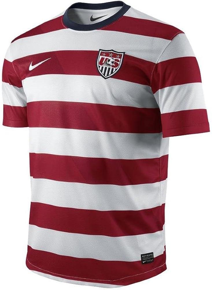 Amazon.com : NIKE United States Soccer Home Replica Jersey ...