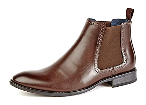 Route 21 M801 - Botines para hombre, color brown, talla 42