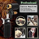 ATOMUS Black Tattoo Machine Shader & Liner Assorted Tattoo Motor Gun Kits Supply for Artists