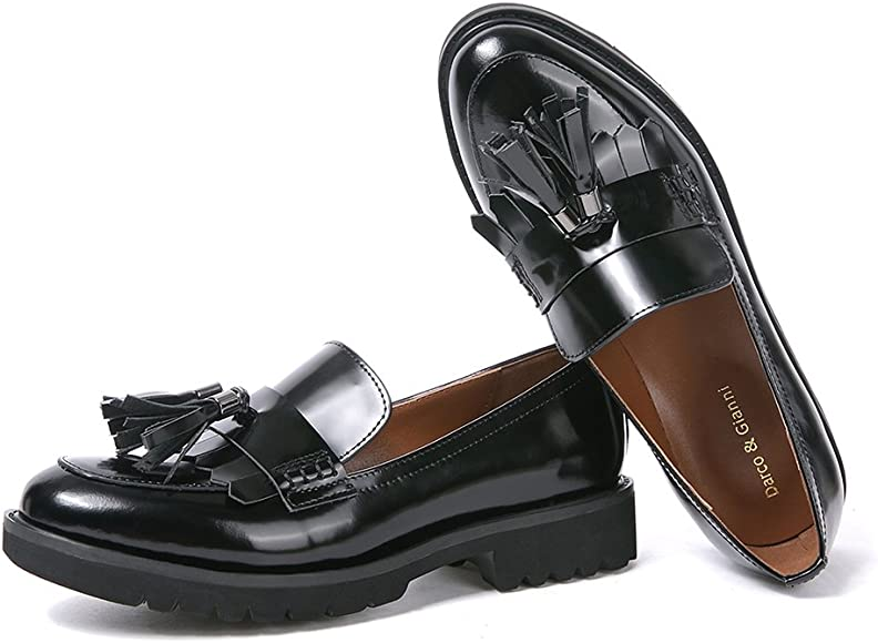 Womens Loafer Flat Shoes Ladies Leather