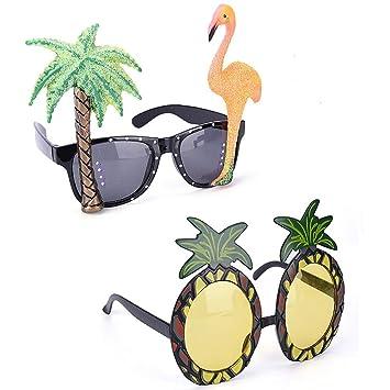 Amazon.com: CheeseandU - Juego de 2 gafas de fiesta ...
