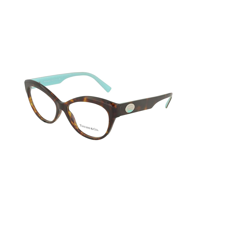 8675a5b6d4 Tiffany RETURN TO TIFFANY COLOR SPLASH TF 2176 HAVANA 53 15 140 women  eyewear frame at Amazon Men s Clothing store