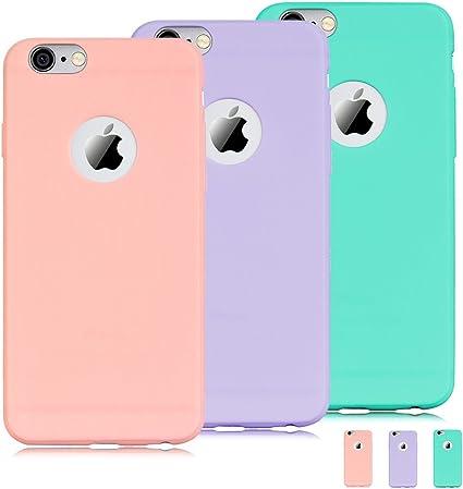 Cover iPhone 6s Silicone Morbido Ultra Sottile 6s Protettivo Gel