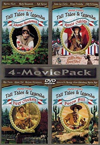 Tall Tales & Legends: Johnny Appleseed / Annie Oakley / Davy Crockett / Pecos Bill (Davy Crockett Dvd)