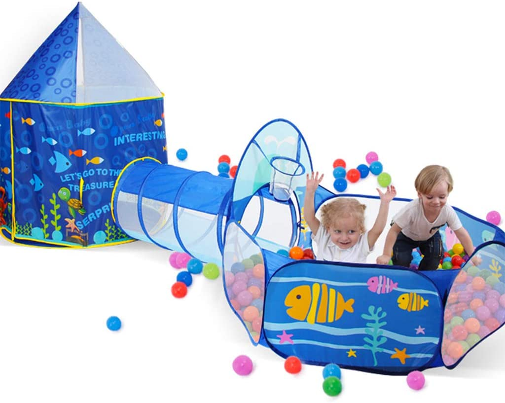 AILSAYA Kids Play Tent, Pop Up Play House with Ball Pit
