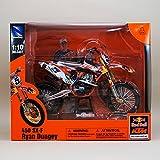 NewRay 1/10 Red Bull レッドブルKTM 450 SX-F (Ryan Dungey) モトクロスバイク/ 1:10/オレンジ