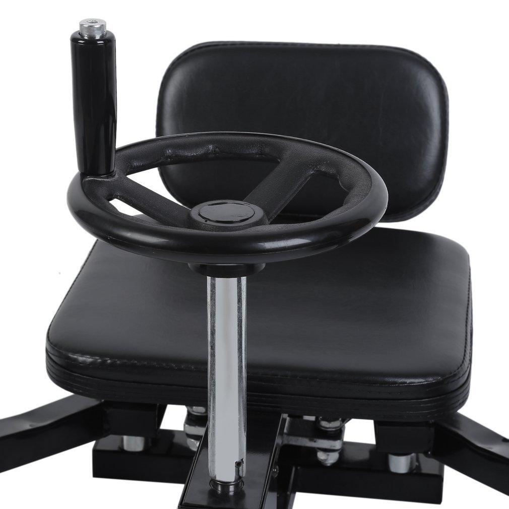 Homgrace Pro Leg Stretch Machine, Heavy Duty Steel Frame Leg Stretcher Training Leg Splitter Gym Gear Fitness Equipment by Homgrace (Image #8)